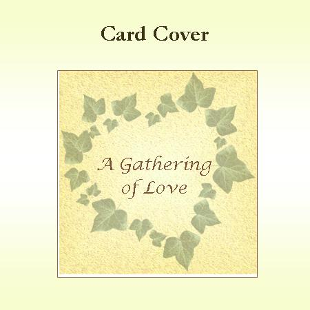 A Gathering of Love Keepsake