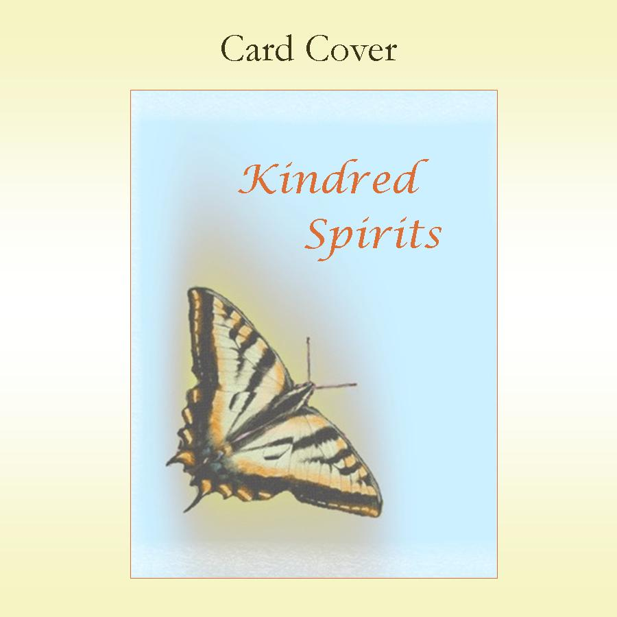 Kindred Spirits Card Cover