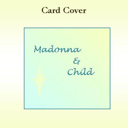 Madonna and Child Keepsake