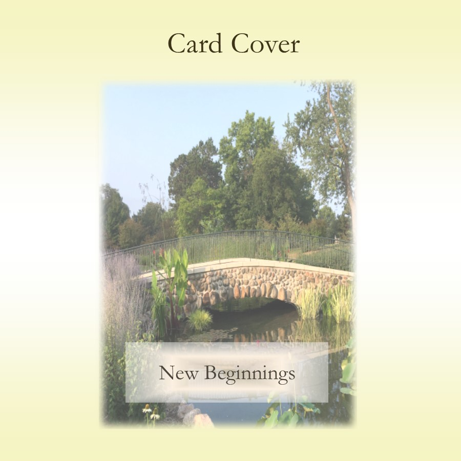 New Beginnings Keepsake