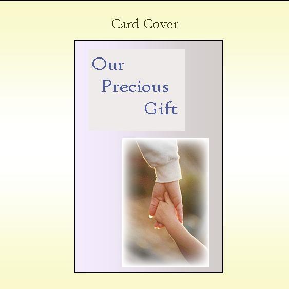 Our Precious Gift Keepsake