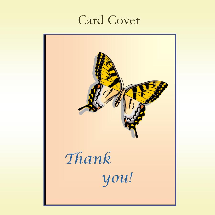 Thank You Butterfly Keepsake