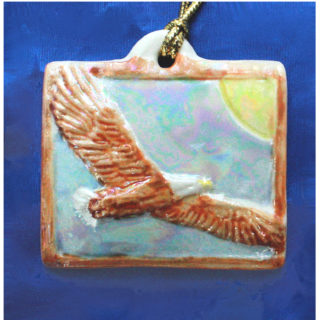 Veteran Eagles Wings Keepsake