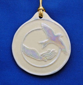 Volunteer Hospice Logo Ornament